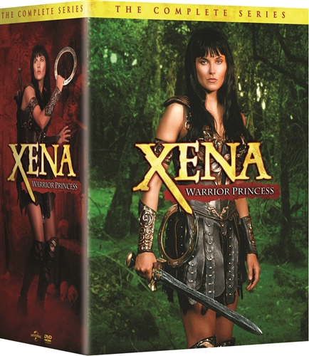 Gods And Warriors Books In Order: Xena Warrior Princess Complete Season 1-6 Series DVD Set