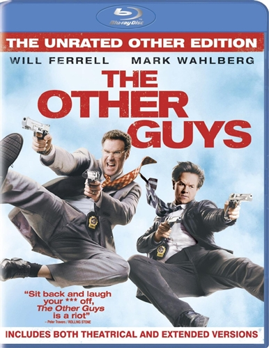 THE OTHER GUYS New Blu-ray The Unrated Other Edition + Theatrical Version