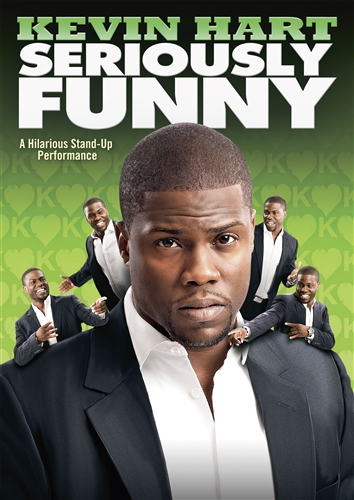 KEVIN HART SERIOUSLY FUNNY New Sealed DVD