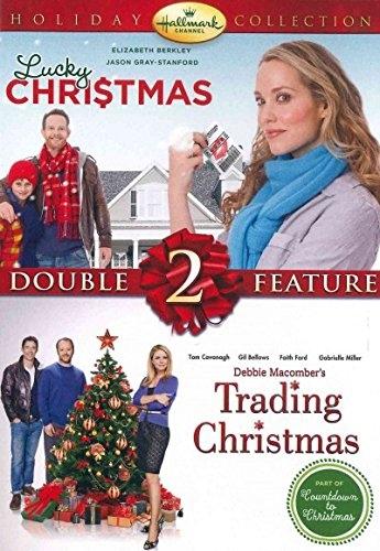 LUCKY CHRISTMAS + TRADING CHRISTMAS New DVD Hallmark Channel