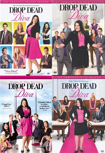 Drop dead diva complete season 1 4 dvd set tv series show - Drop dead diva full episodes ...