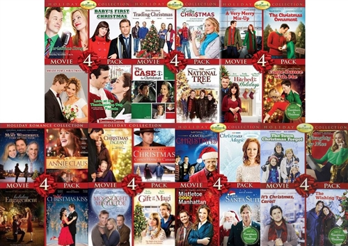 HALLMARK CHANNEL HOLIDAY COLLECTION 28 MOVIES New Sealed 7 D