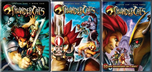 Thundercats Complete Series on Thundercats Complete Season 1 Books 1 2 3 New 6 Dvd   Ebay