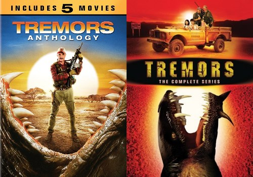 tremors complete film amp tv series new dvd all 5 movies 1 2