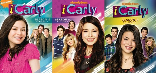 Details about ICARLY COMPLETE SEASON 2 VOL 1 2 3 New 7 DVD